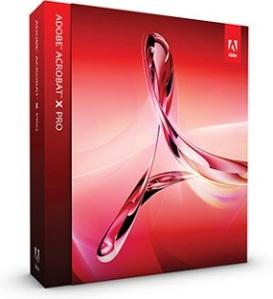 Capa Adobe Acrobat Pro X v10.0 + Serial