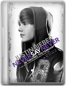 Capa Justin Bieber – Never Say Never   DVDRip   Dual Áudio