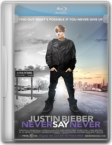 Capa Justin Bieber – Never Say Never   BluRay   Dual Áudio |720p|